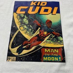 Kid Cudi Man on the Moon Comic TShirt
